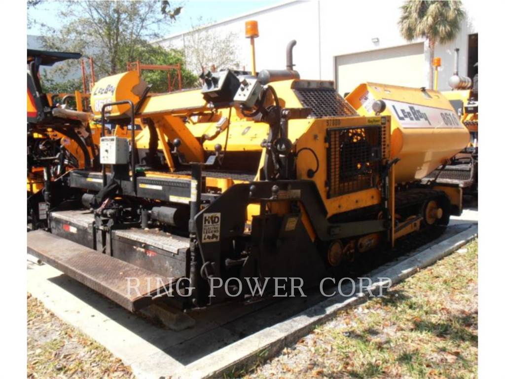 LeeBoy 8616, stabilizers / reclaimers, Construction