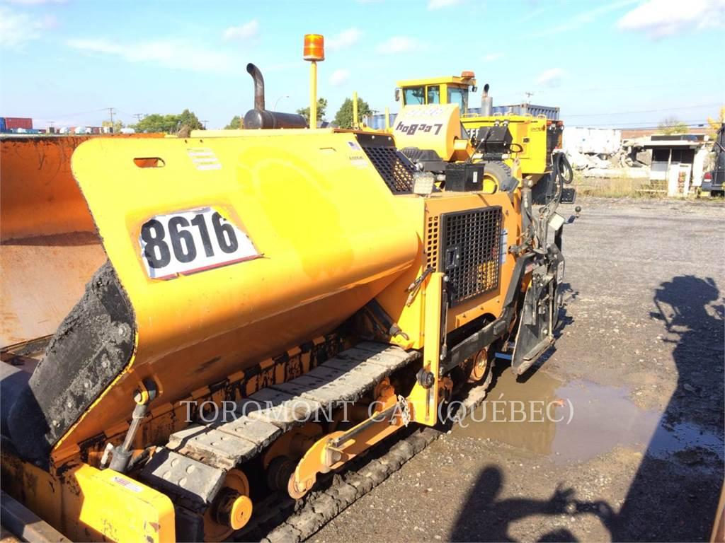LeeBoy 8616, Asphalt pavers, Construction