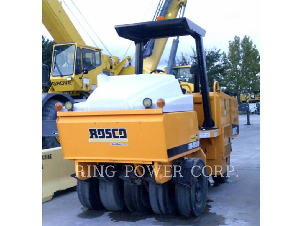 LeeBoy 915, Twin drum rollers, Construction