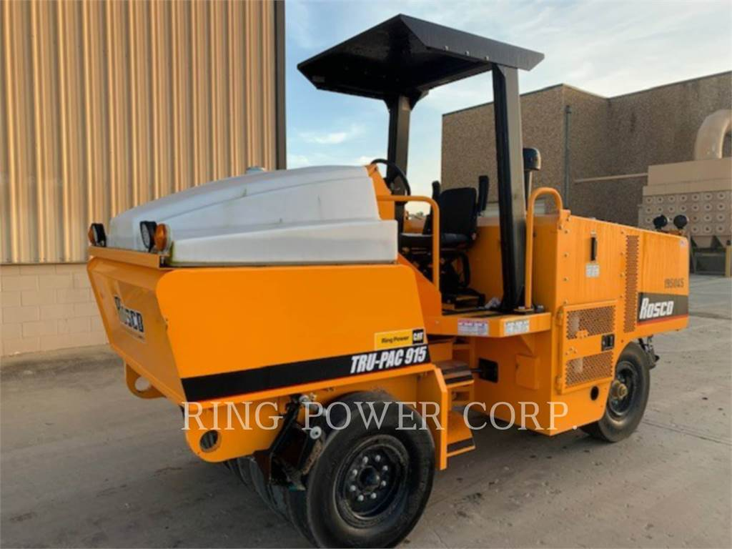 LeeBoy 915B, Twin drum rollers, Construction
