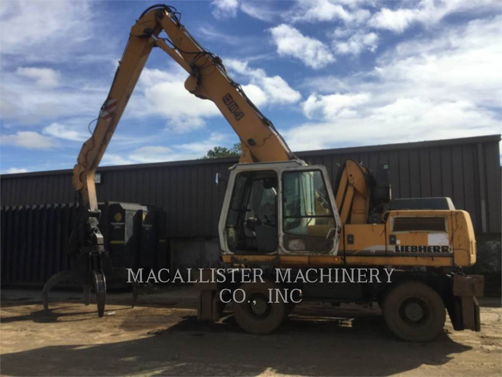 Liebherr A904, material handlers / demolition, Construction