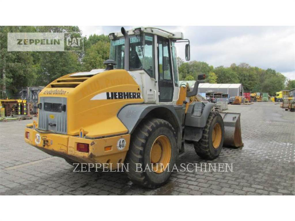 Liebherr L524, Wheel Loaders, Construction