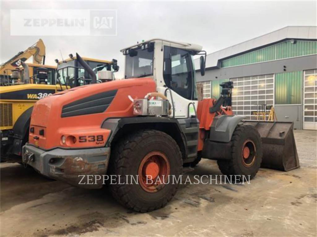 Liebherr L538, Wheel Loaders, Construction