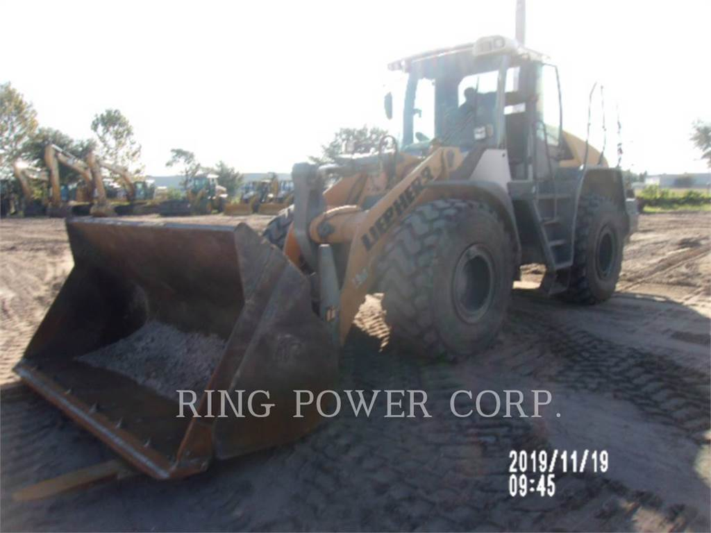 Liebherr L550QC, Wheel Loaders, Construction