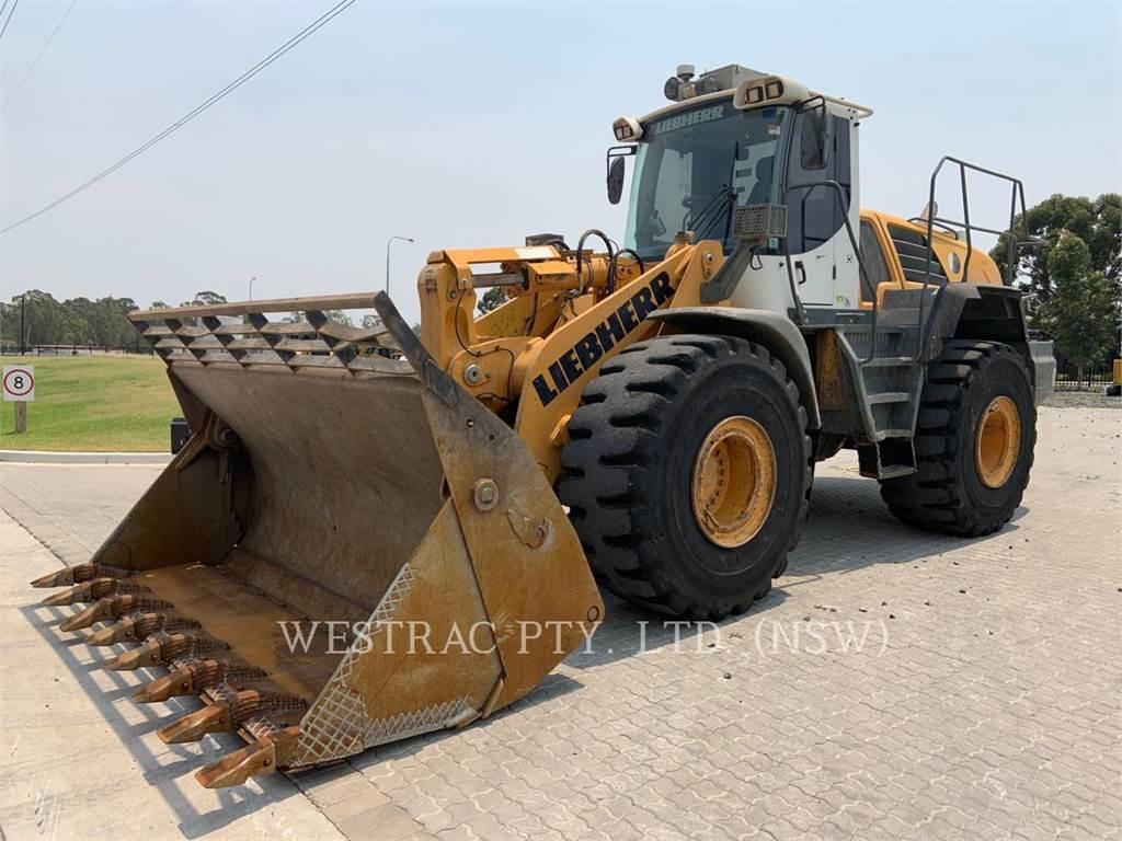 Liebherr L566, Wheel Loaders, Construction