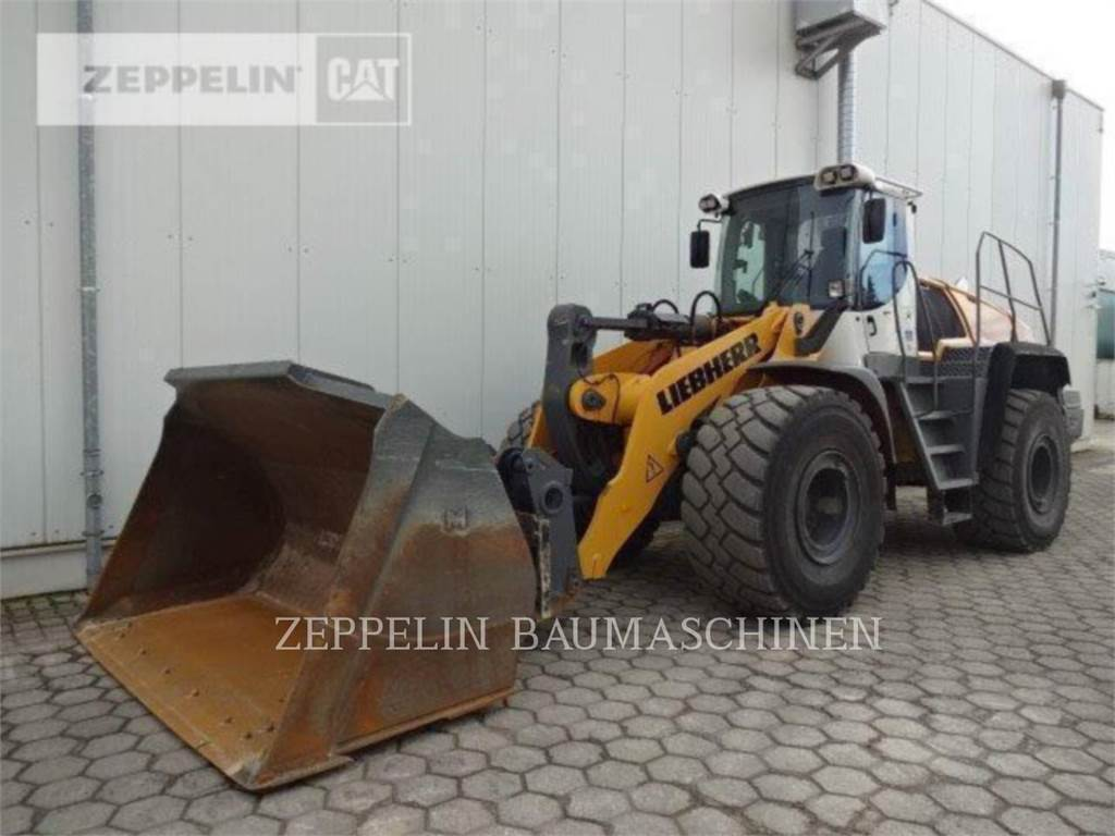 Liebherr L580, Wheel Loaders, Construction