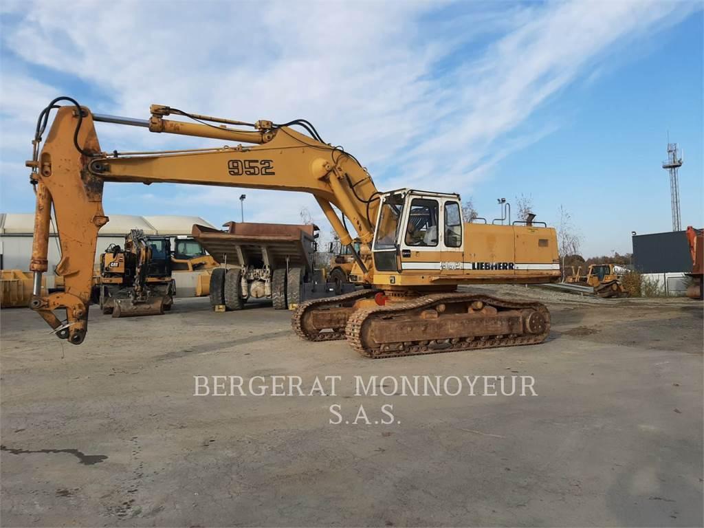 Liebherr R952HD, Crawler Excavators, Construction