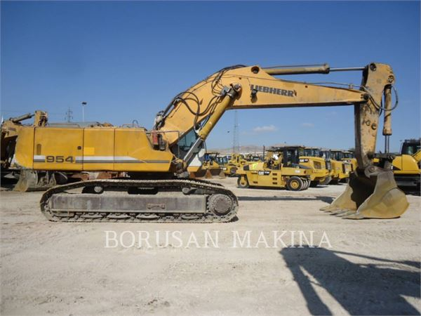 Liebherr R954C, Crawler Excavators, Construction