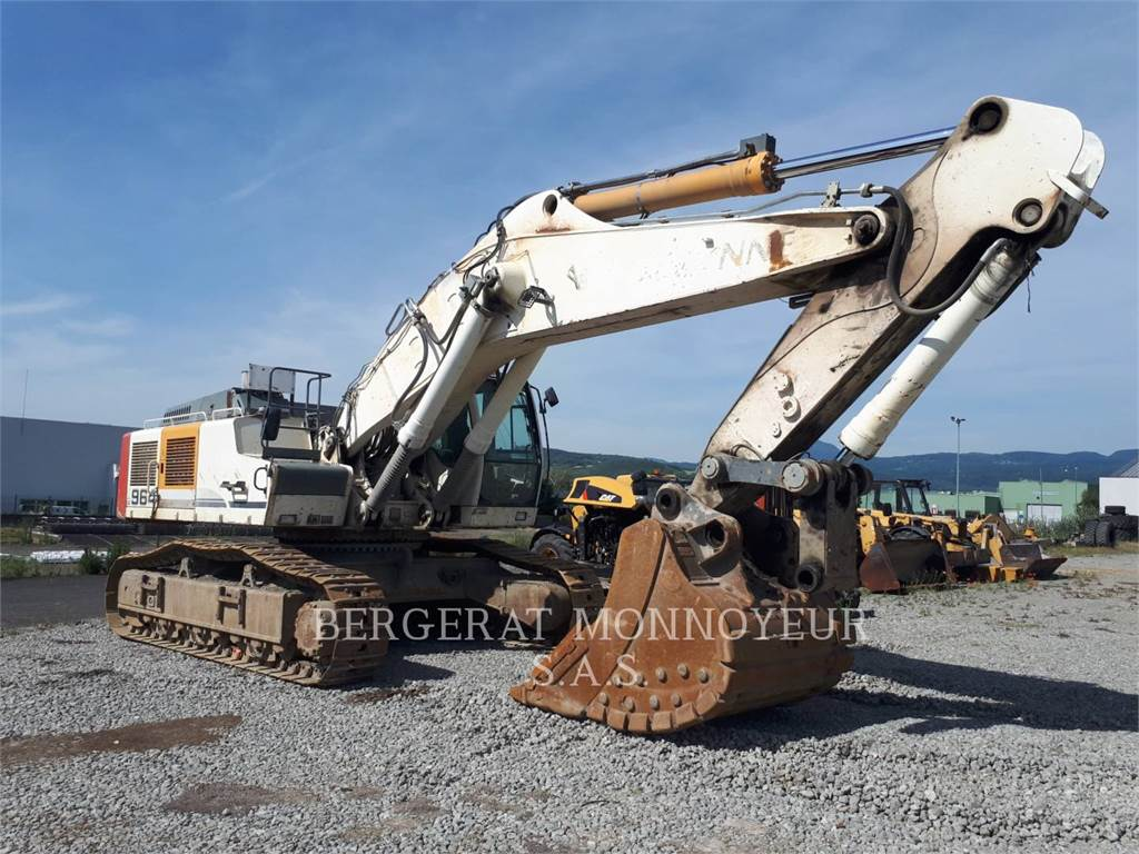 Liebherr R964C, Crawler Excavators, Construction