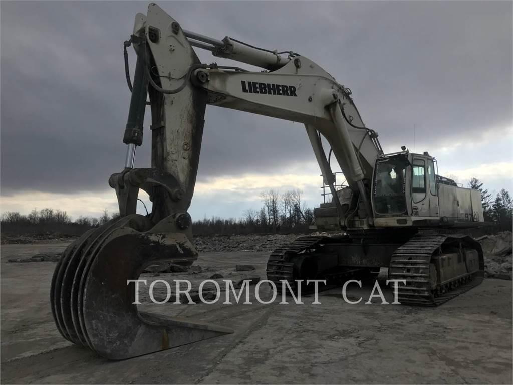 Liebherr R974C, Crawler Excavators, Construction