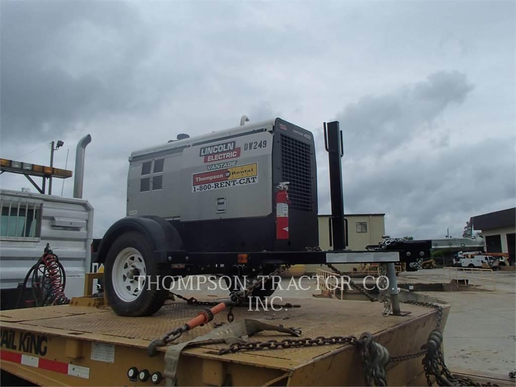 Lincoln K25093LI, welders, Construction