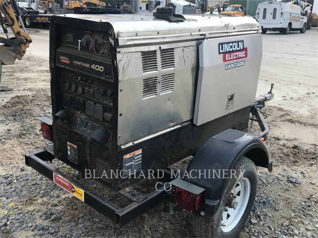Lincoln VANTAGE 400, soldadores, Equipamentos Construção