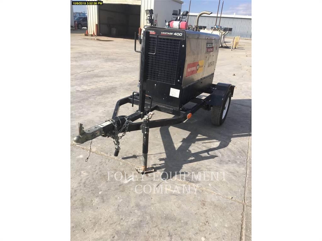 Lincoln VANTAGE400, soldadores, Equipamentos Construção