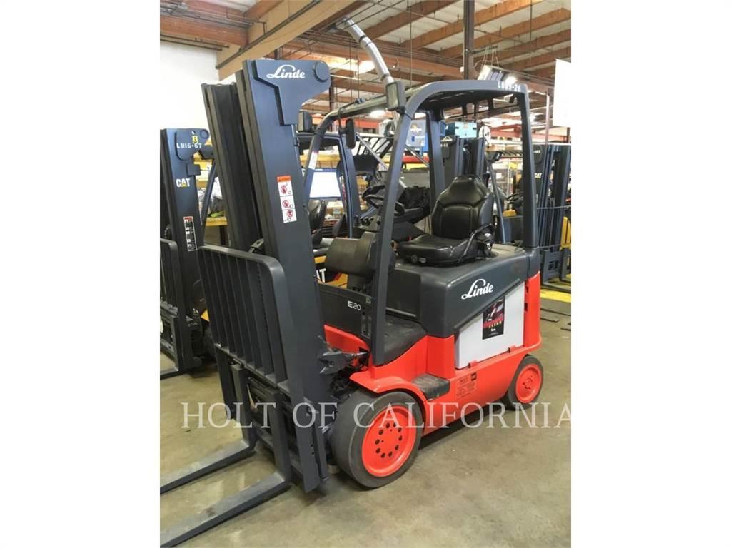 Linde E20C/600, Chariots élévateurs électriques, Manutention