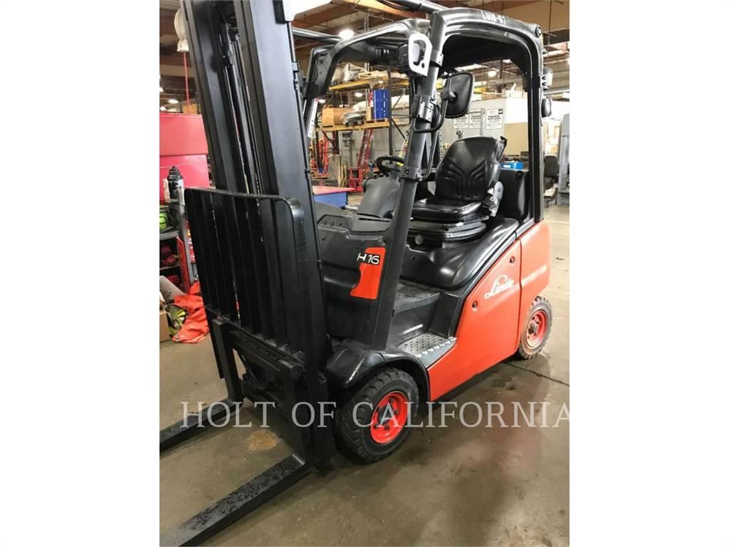 Linde H16D, Diesel Forklifts, Material Handling