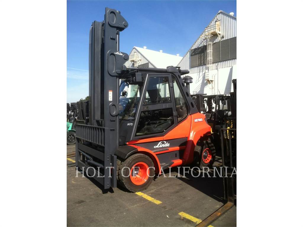 Linde H70D, Diesel Forklifts, Material Handling