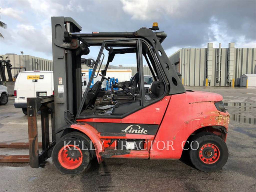 Linde H80D900, Chariots diesel, Manutention