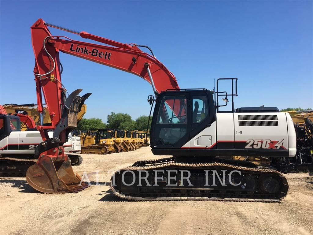 Link-Belt CONSTRUCTION 250X4, Crawler Excavators, Construction