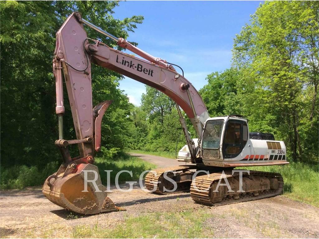 Link-Belt CONSTRUCTION 330LX, Crawler Excavators, Construction