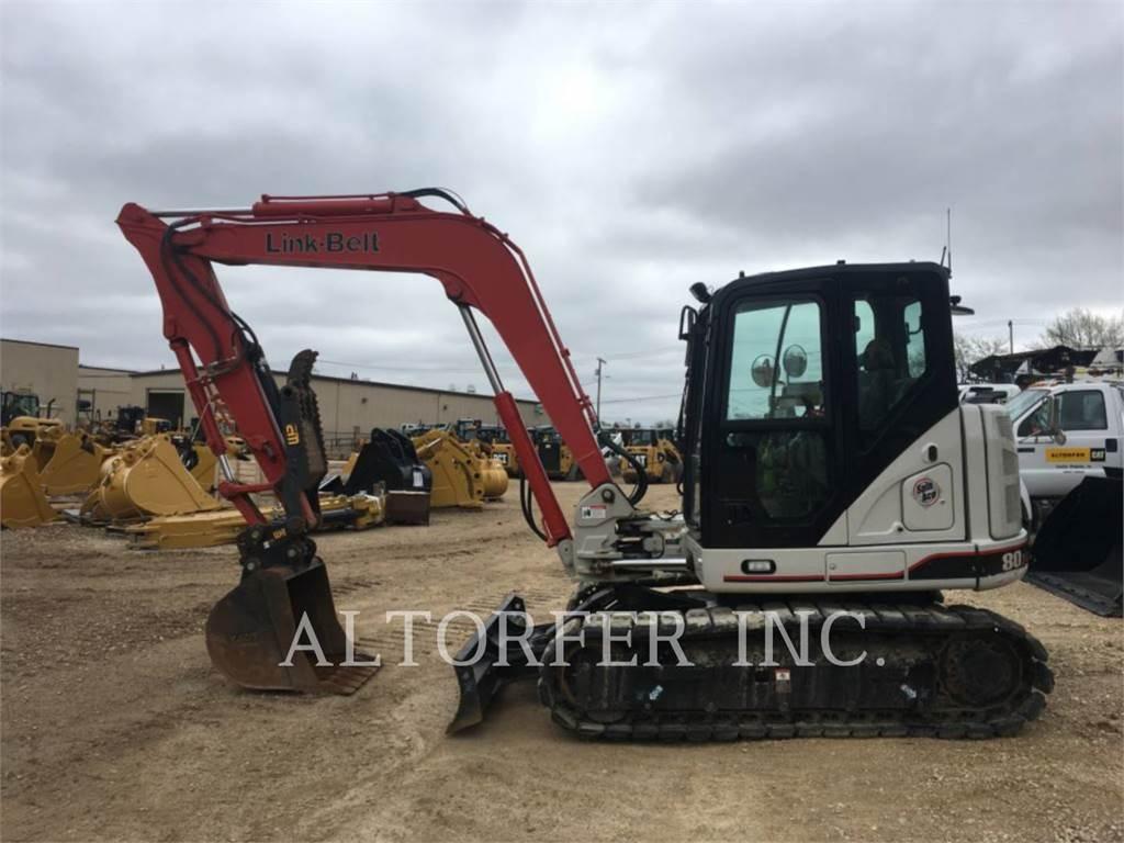 Link-Belt CONSTRUCTION 80X3, Crawler Excavators, Construction