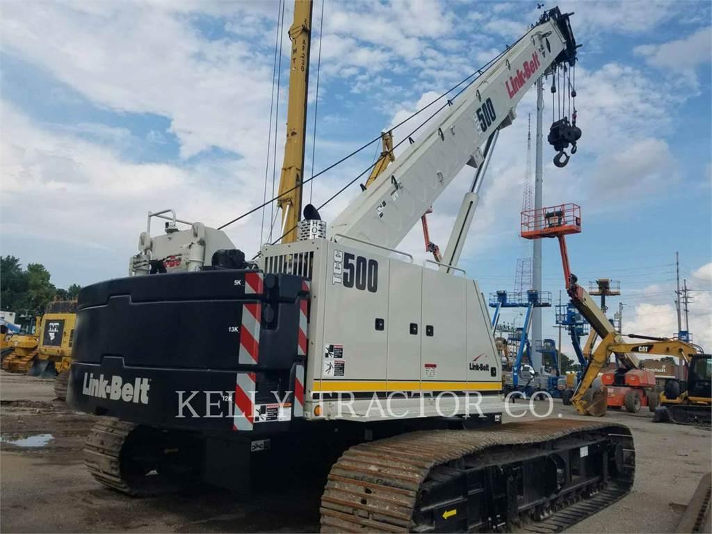 Link-Belt CONSTRUCTION TCC-500, cranes, Construction