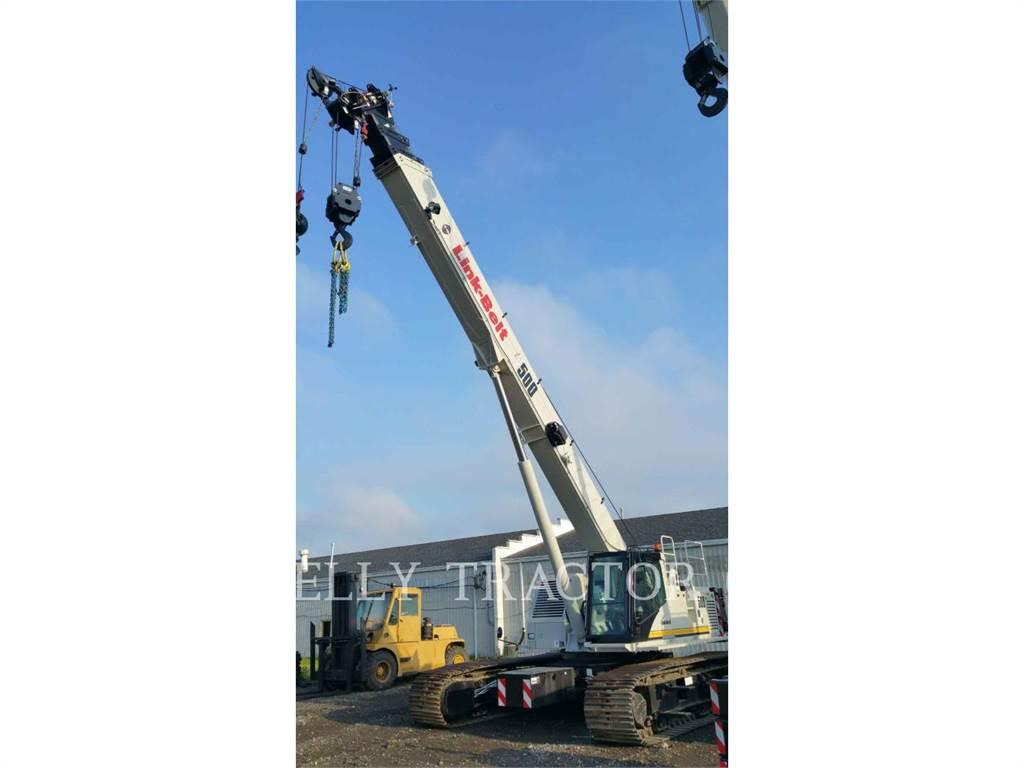Link-Belt CONSTRUCTION TCC-500, kräne, Bau-Und Bergbauausrüstung