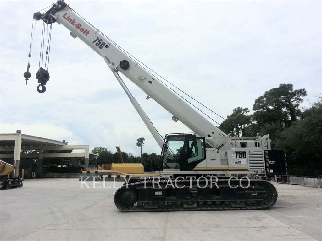 Link-Belt CONSTRUCTION TCC-750, cranes, Construction