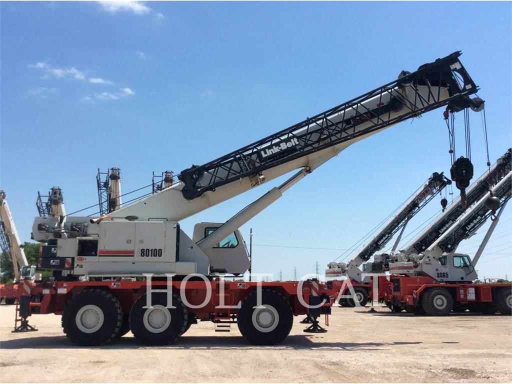 Link-Belt CRANES RTC-80100 SERIES II, cranes, Construction