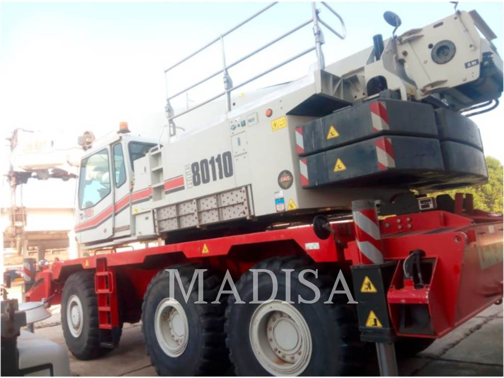 Link-Belt CRANES RTC-80110, cranes, Construction