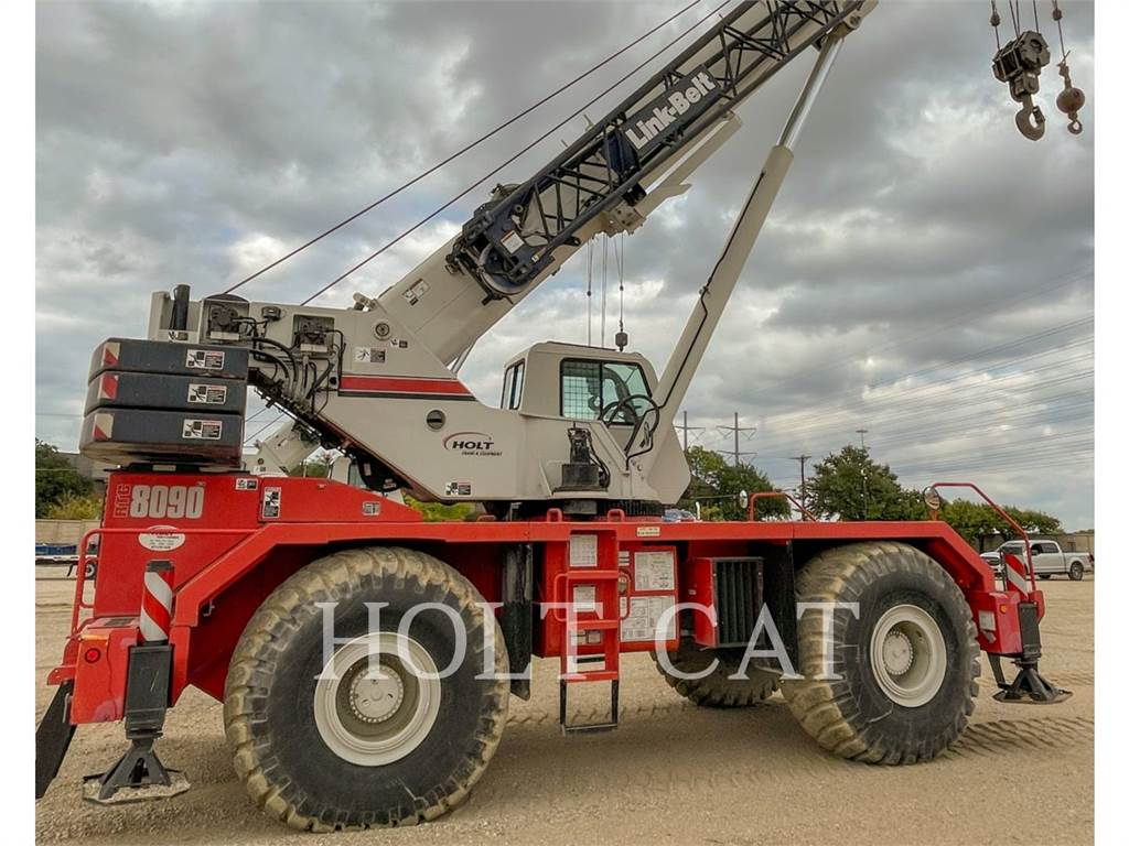 Link-Belt CRANES RTC-8090, cranes, Construction
