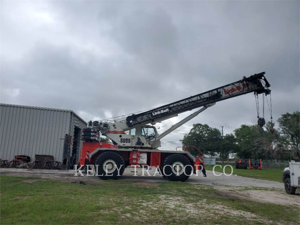 Link-Belt CRANES RTC-8090 II, cranes, Construction