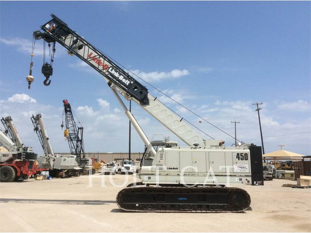 Link-Belt CRANES TCC 450, cranes, Construction