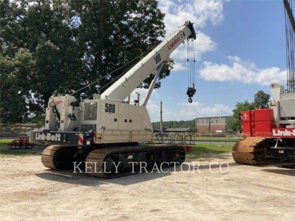 Link-Belt CRANES TCC-500, kräne, Bau-Und Bergbauausrüstung
