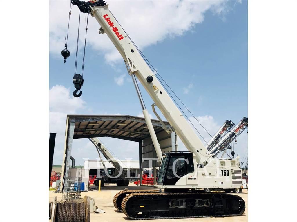 Link-Belt CRANES TCC 750, żurawie, Sprzęt budowlany