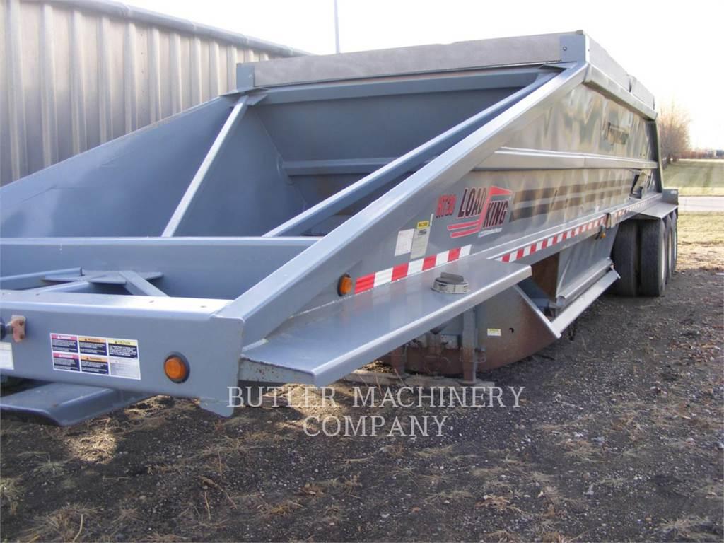 Load King 2060, remolques - contenedor estándar, Transporte
