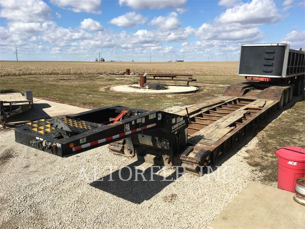 Load King 553 SS, trailers, Transport