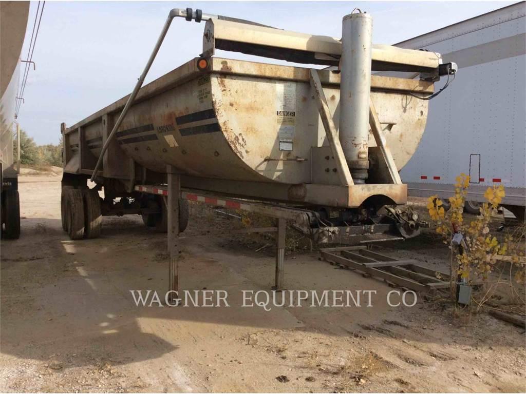 Load King ROCK DUMP, trailers, Transport