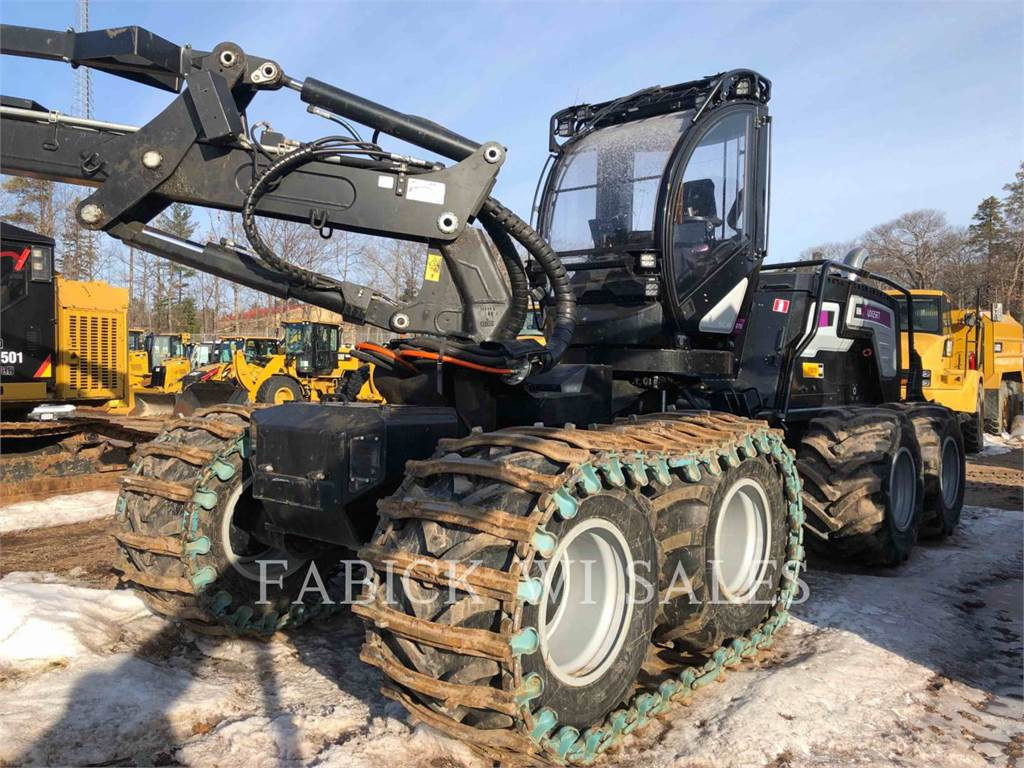 Logset 8H GTE, Knuckleboom loaders, Forestry Equipment