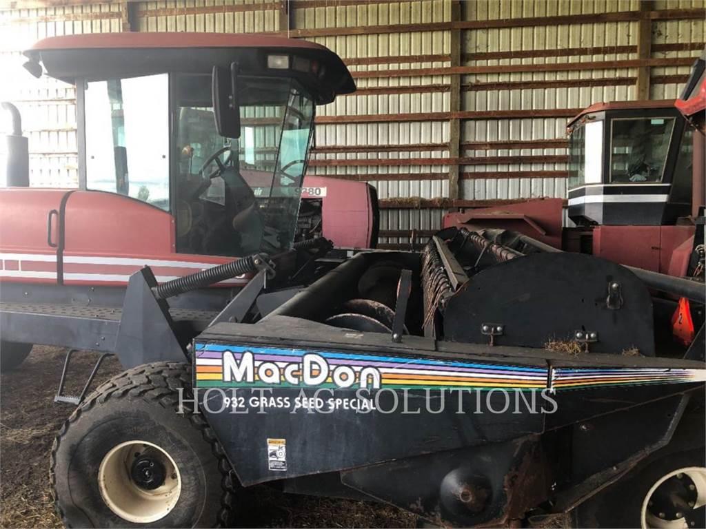 MacDon 2950, echipamente agricole pentru cosit, Agricultură