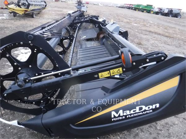 MacDon FD75-S, Harvester Headers, Agriculture