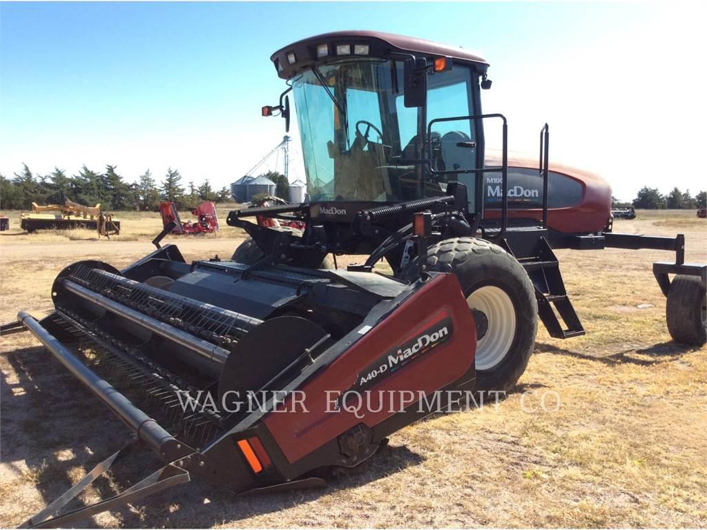 MacDon M100, equipos agrícolas para forrajes, Agricultura