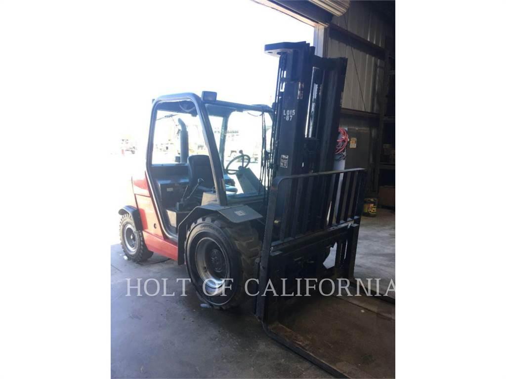 Manitou MSI30, Diesel heftrucks, Laden en lossen