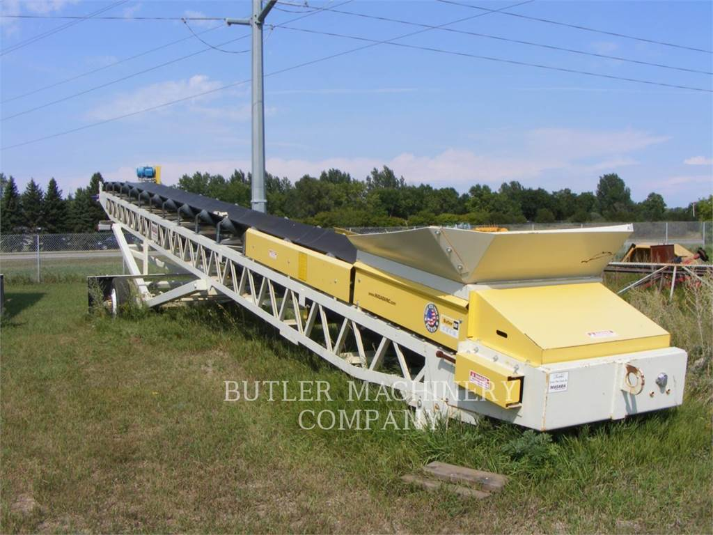 Masaba 36X60CON, conveyors, Construction