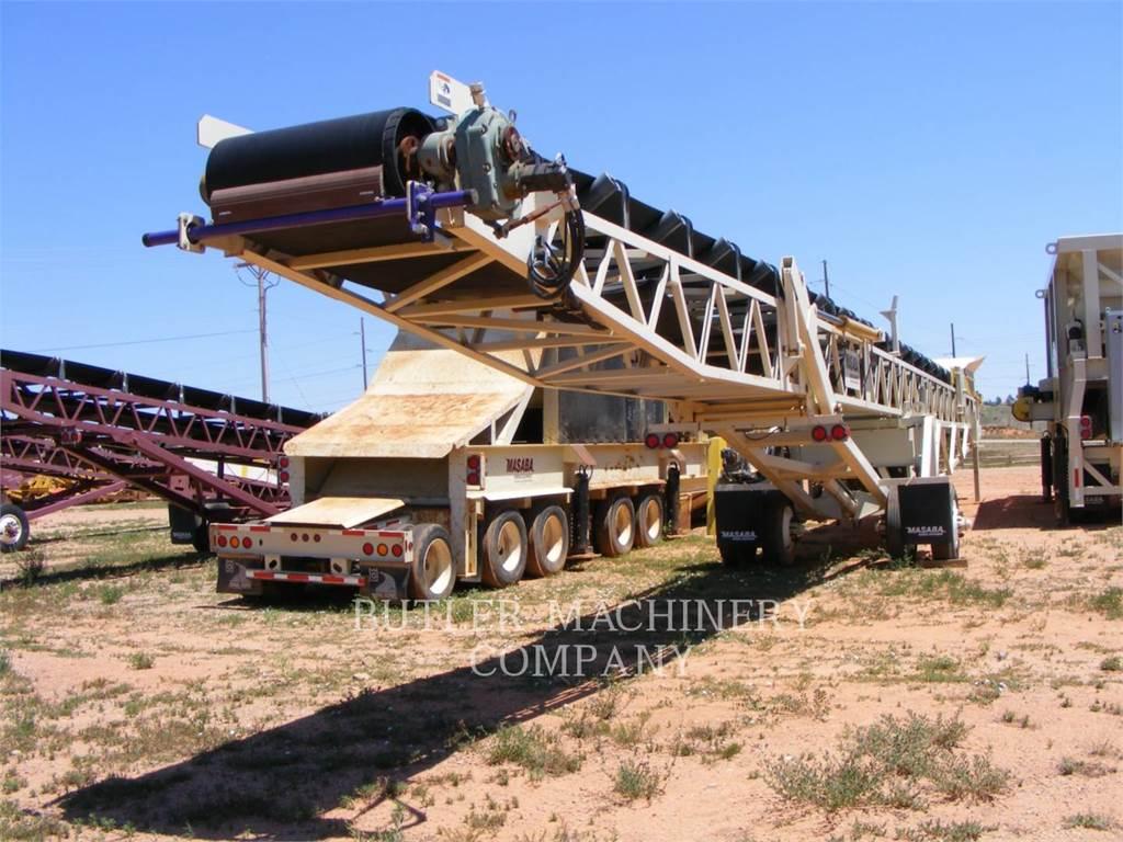 Masaba 36X80CON, przenośniki taśmowe, Sprzęt budowlany