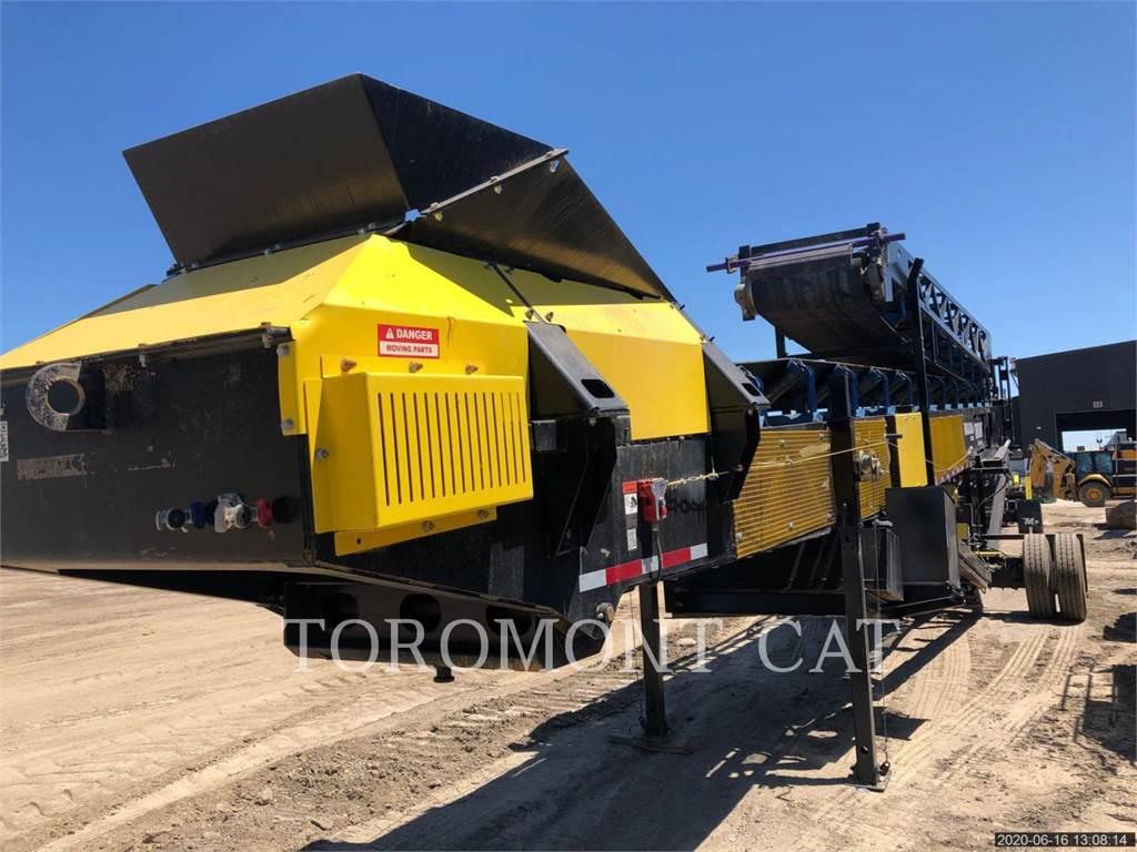 Masaba M36X85WD, crushers, Construction