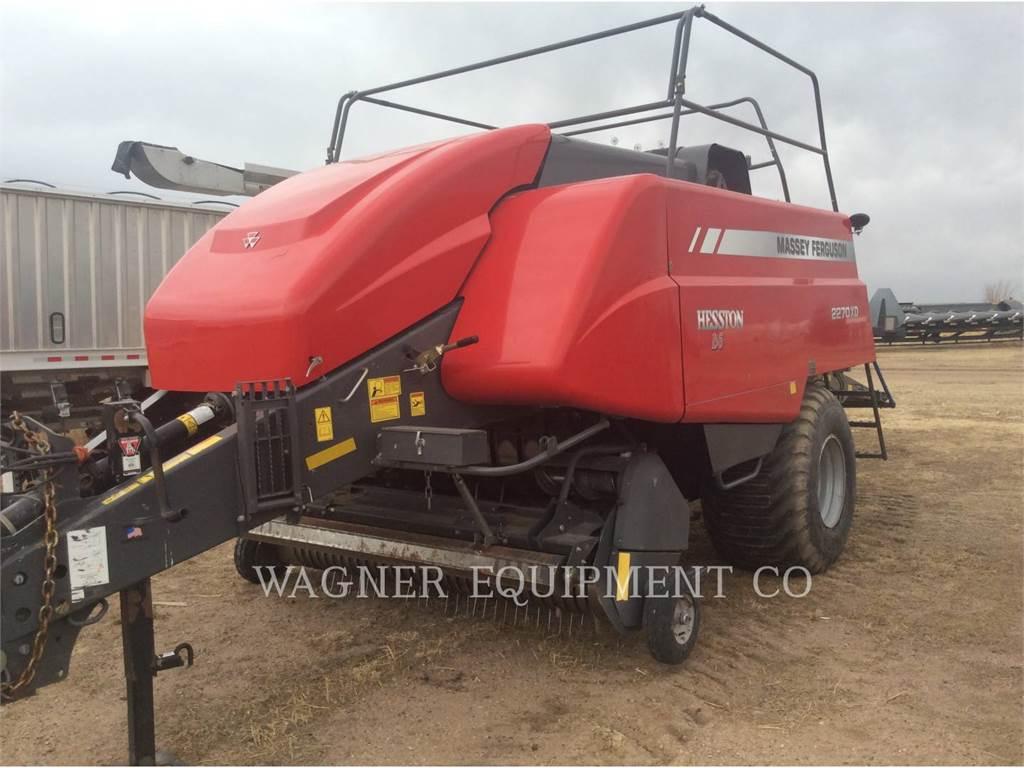 Massey Ferguson 2270XD, hay equipment, Agriculture