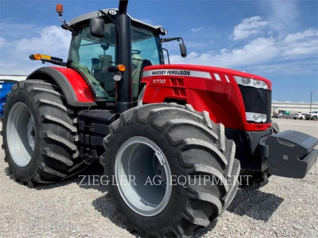 Massey Ferguson 8732, tractors, Agriculture