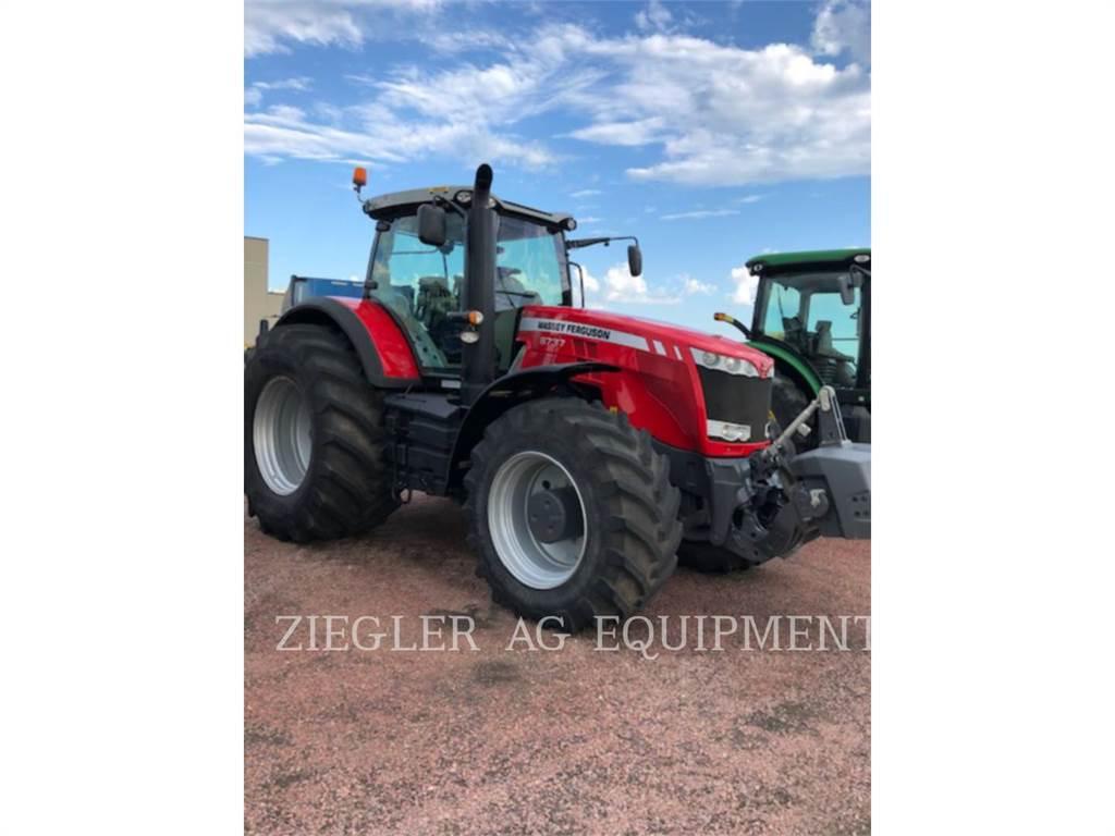 Massey Ferguson 8737, tractors, Agriculture