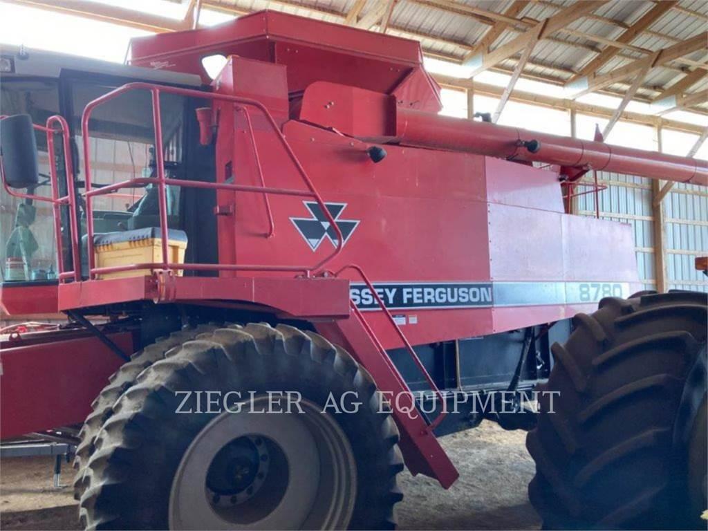 Massey Ferguson 8780, combines, Agriculture