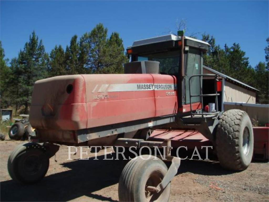Massey Ferguson 9635, hay equipment, Agriculture